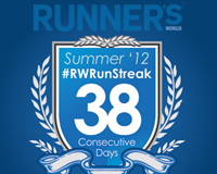 Download Your #RWRunStreak Finisher's Crest
