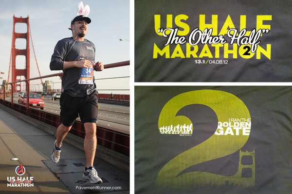 April (Easter Sunday): US Half Marathon (1:50)