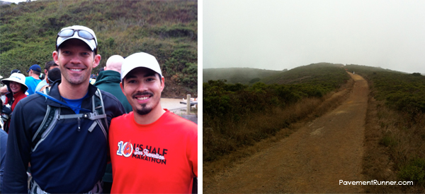 August: 10 mile trail run through Coastal Events. I'd later run this route on the 50 miler.