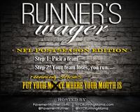 Runner's Wager — #MilesOfShame