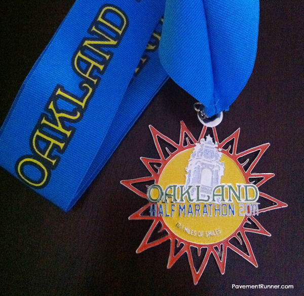 Half Marathon Finisher's Medal (2011)