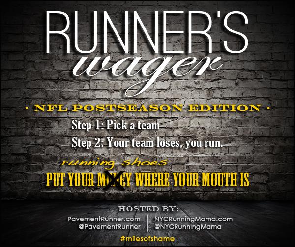 runner's wager - miles of shame