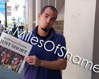#MilesOfShame Completed