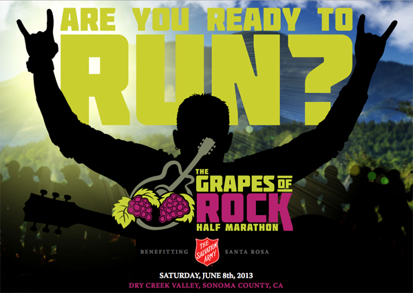 Enter to win a FREE entry to the Grapes of Rock Half Marathon.
