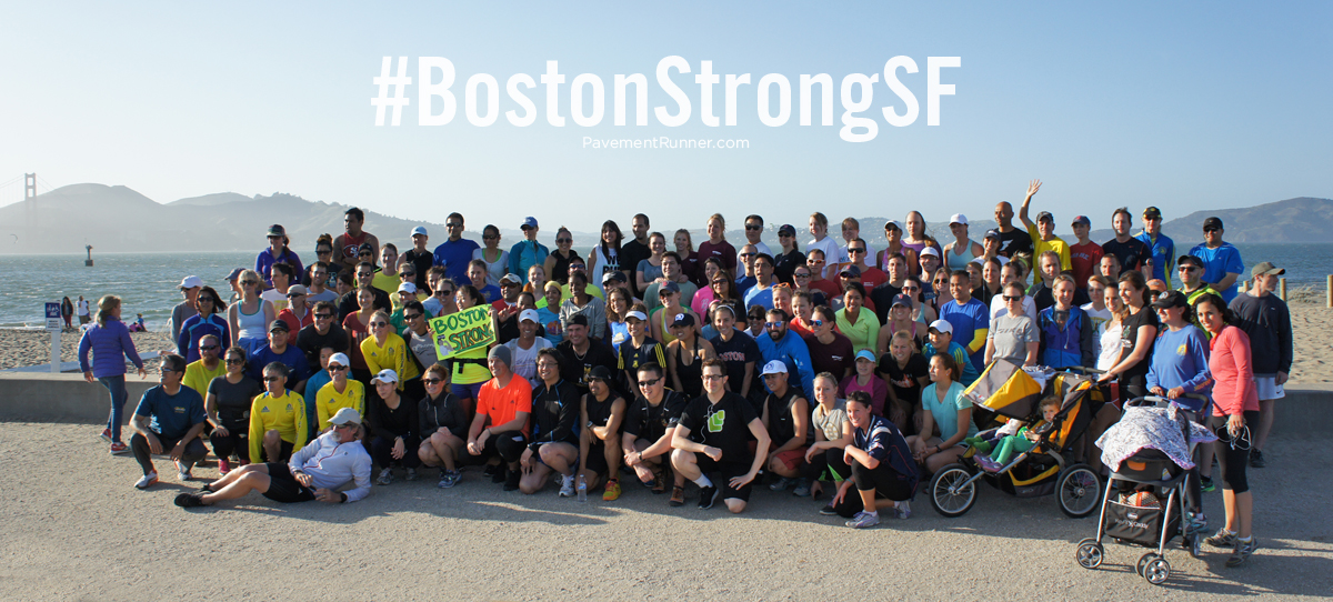 #BostonStrongSF runners