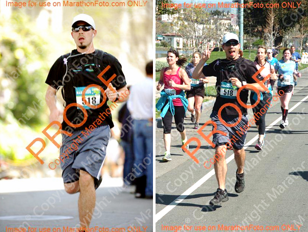 That second photo is the last mile, I look darn happy for mile 26.