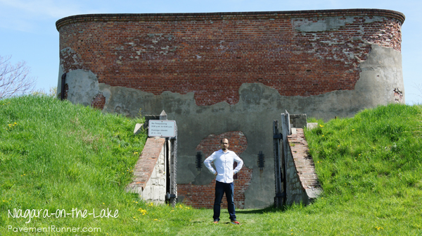 Fort Mississauga - yep, I stormed it.