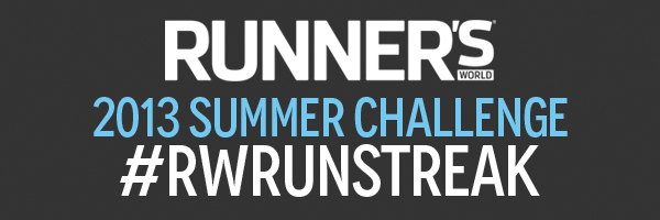 The Runner's World #RWRunStreak: Summer Challenge