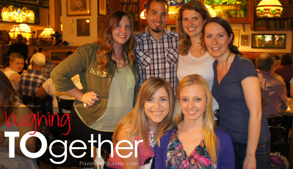 Alyssa @AlyssaWodabek, @Katie titaniumtales.com, Morgan @LifeAfterBagels, (Bottom row) Jess @trulyjess, Robyn @RobynBaldwin