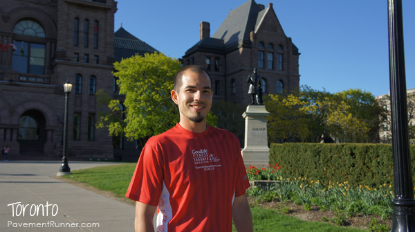 And went to Queen's Park. (Nice shirt!)