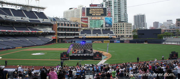Post-race concert at Petco Park with The Psychedelic Furs.