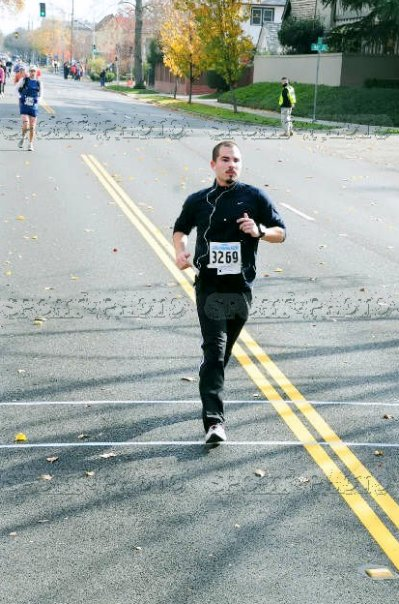 (CIM 2009) Long sleeves and pants? Oh, I had a lot to learn. Can someone say heel strike?