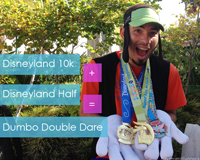Dumbo Double Dare: Disneyland 10k and Half