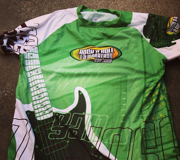 I'll be racing RETRO in my 2007 San Jose shirt…