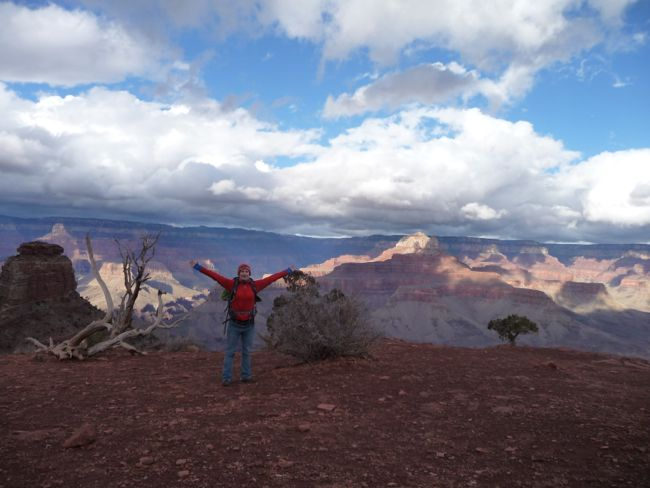 My first visit to the Grand Canyon meanderingechoes.blogspot.com