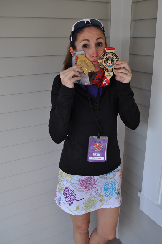 After I finished Goofy's Race and a Half Challenge January 2013. 39.3 miles. — http://heatherslookingglass.com