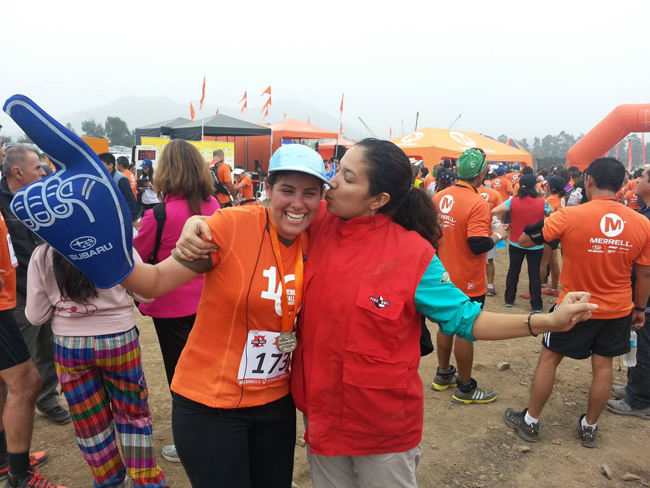 Picture of my cousin and myself in my first international race Pachacamac, Peru. — http://wonderfulworldmzdsny.com/?p=36