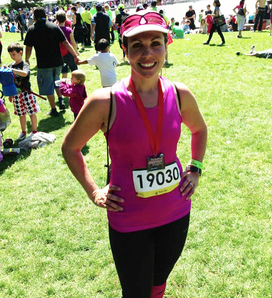 Attached is a picture of me after having finished my first marathon at the Seattle Rock n Roll Marathon on June 22 of this year. I love it because the race ignited my passion of the marathon (I finished three more after that for 4 marathons in 5.5 months) and I was so proud to accomplish something I never thought I could do. It's been a great year! - http://runningrosa.com/