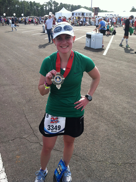 After finishing my first marathon (in honor of my grandfather) - challenge complete! — http://runningtowardtheprize.com