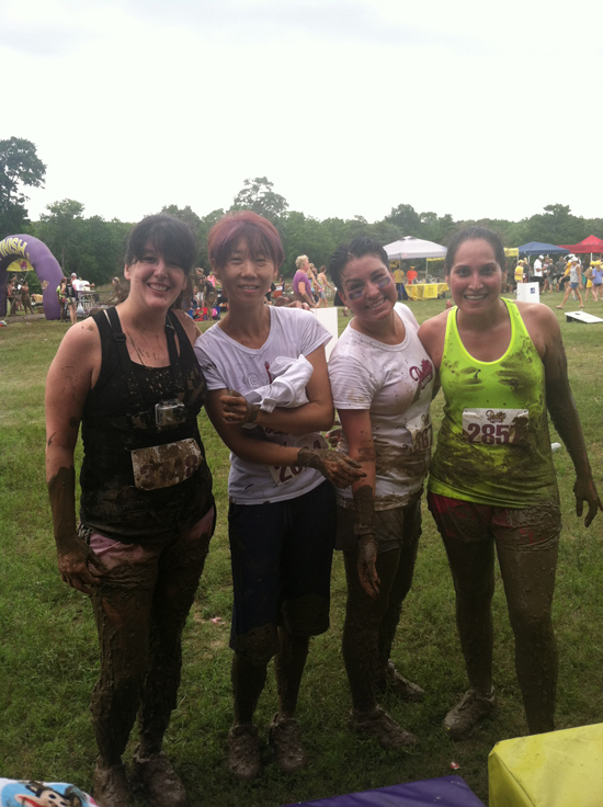 I loved the Pretty Muddy mud run because it reminded me not to always take running so seriously. Sometimes it is great to forget about the clock, just run, and have fun in the mud! — www.runningwithollie.com