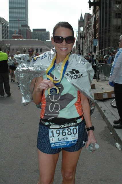 My first Boston Marathon, and about 2 minutes and 30 seconds before the world changed forever. — http://www.runwiki.org