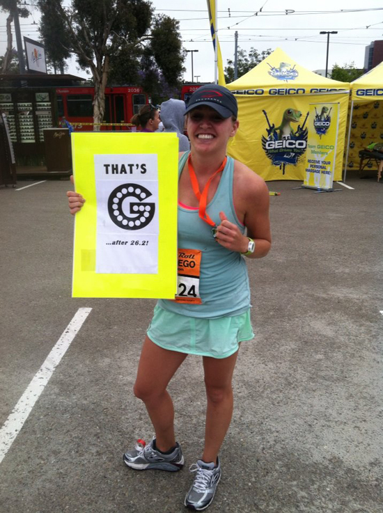 After my very first 26.2 at #RnRSD...Surprised I could stand at that point! — http://www.thatsg.com