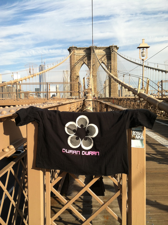 My first 10K post injury on Duran Duran Appreciation finished on the Brooklyn Bridge during NYC Summer Streets, Aug 2013. Accompanied by an all Duran Duran playlist (of course). — www.thevalentineRD.com