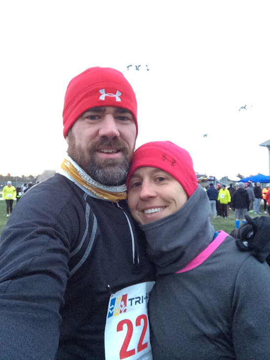 Love and Running-  Thanksgiving 2013 - Dave Shaw and Laura Whitcombe