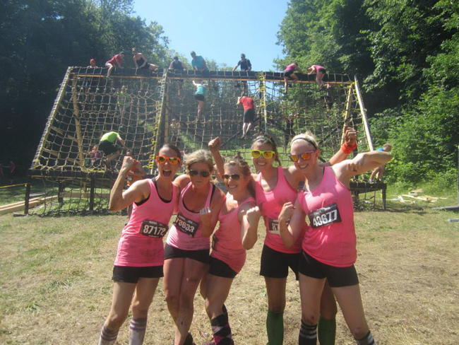This was my first obstacle race - Warrior Dash. I was so nervous to run it but it ended up being an insanely fun race. The cherry on top - running it with some fabulous ladies: Jess (trulyjess.com), Robyn (robynbaldwin.com), Krysten (darwinianfail.com) and Michelle. Can't wait to do it again this year! — http://www.wildlyfit.ca