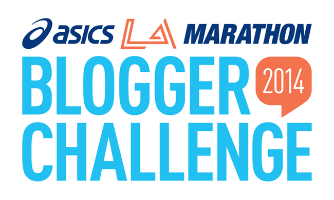 asics, blogger, challenge, badge, la, marathon