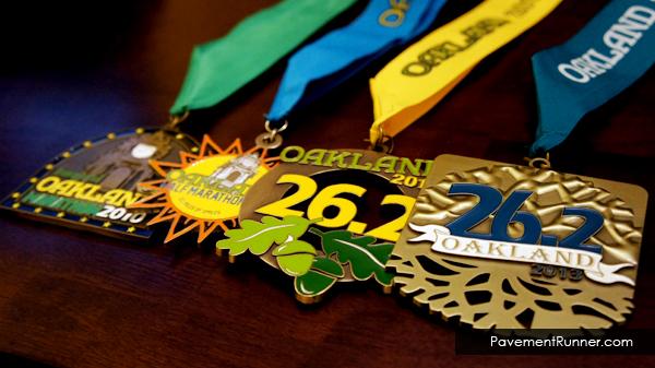 Oakland Running Festival 2010-2013