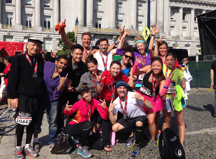 THIS is why running is fun: #RnRSF photo recap