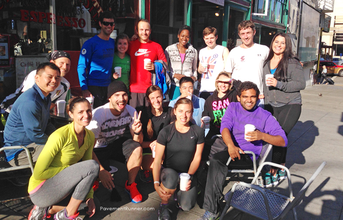 November Project San Francisco tribe post-workout.