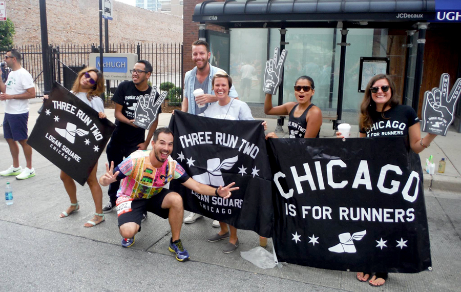 With iconic Chicago Three Run Two running crew