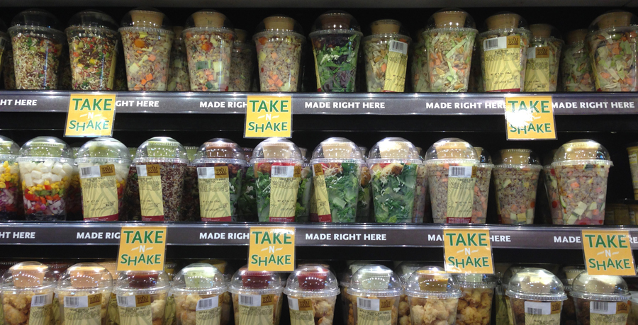 Make meals easy with their freshly prepared Take 'n' Shake options.
