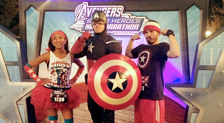 Disneyland Avengers Half (Race 2 of 3)