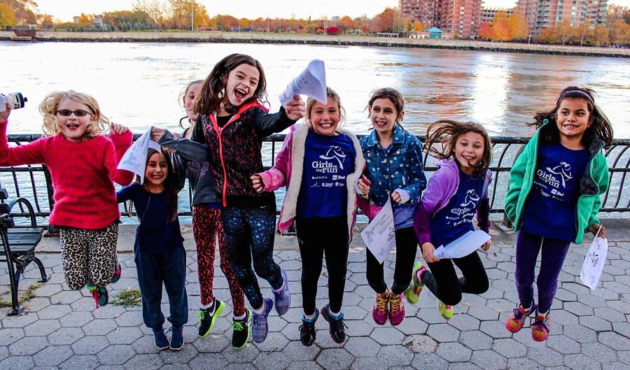 The joy of accomplishing something for the first time should always be celebrated. PDRs all around at our Girls on the Run NYC practice 5k. http://racepacejess.com