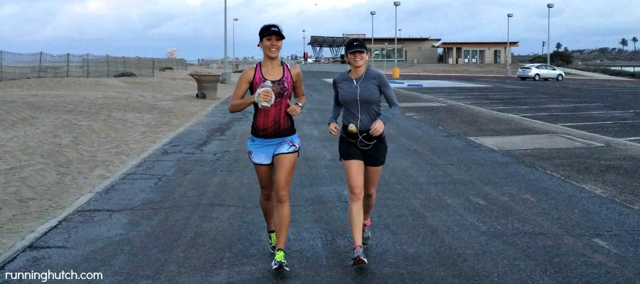Training for my first half post-injury and Ericka's first half ever at the beach! http://runninghutch.com
