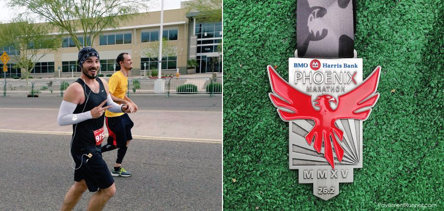 Just before the finish line (from Jeremy); 2014 Finisher's Medal