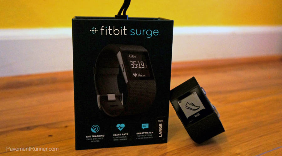 Fitbit Surge: Tracking A Runner's Life