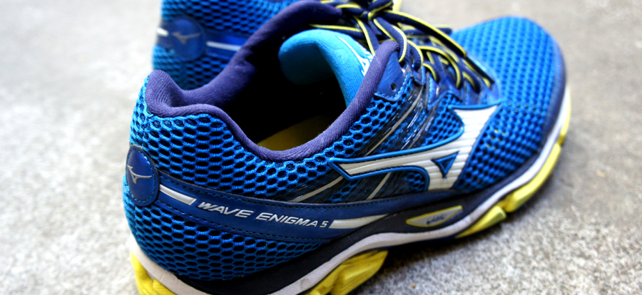 Testing the Wave Enigma 5's from Mizuno