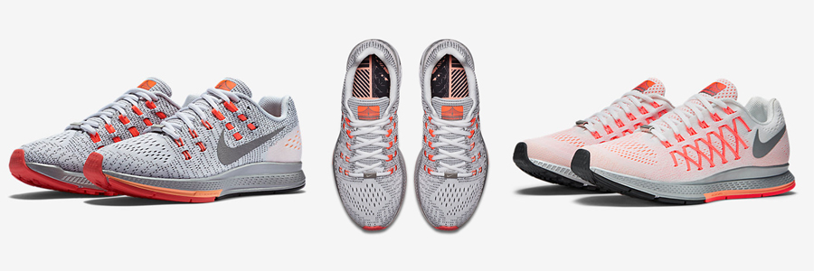 San Francisco Special Editions: Nike Structure (left and center), Nike Pegasus (right)