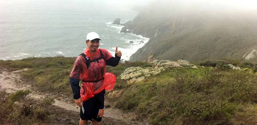 How a $2 Poncho Saved my 23 Miler