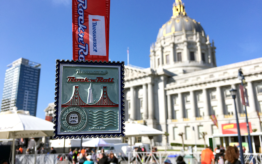 rock-n-roll-san-francisco-medal