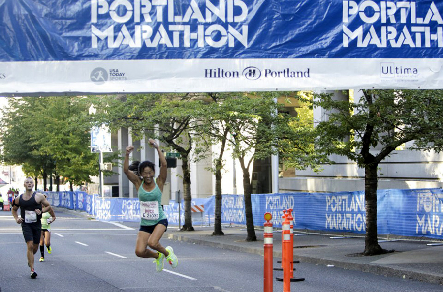 The Portland Marathon with Active Alliance